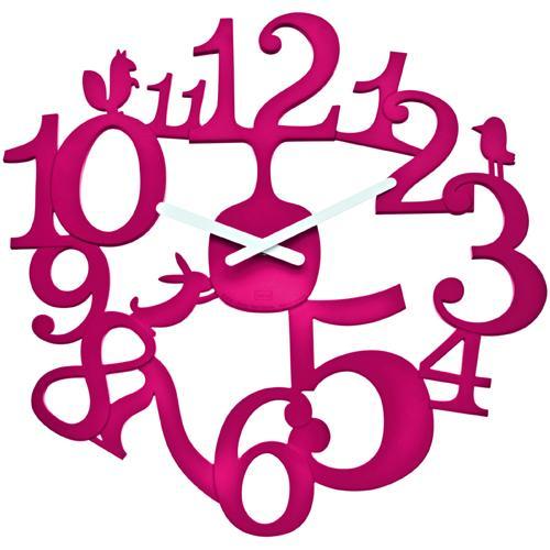 コジオル ドイツ の 国際ブランド かわいい壁掛け時計 メイルオーダー 大人気の小鳥シリーズ ウォールクロック pi:p 照明 koziol プラスチック インテリア ライト T.ラズベリーコジオル