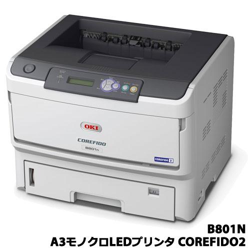沖データ/B801N [【5年無償保証】A3モノクロLEDプリンタ COREFIDO2]