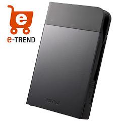 バッファロー HD-PZN1.0U3-B [ICカード対応 耐衝撃 ポータブルHDD 1TB ブラック]