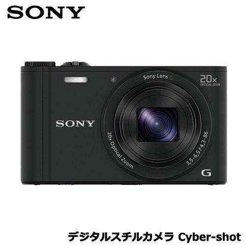 ソニー(SONY) DSC-WX350/B [デジタルスチルカメラ Cyber-shot WX350 (1820万画素CMOS/光学x20) ブラック]