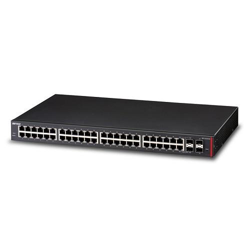 バッファロー BS-GS2048 レイヤー2 Giga スマートスイッチ 48ポート SBおゆうぎ会 最短で翌日配送! 年始 修理保証 入学祝