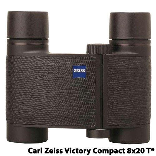 Carl Zeiss VC8x20 ブラック(革張り) [スポーツ双眼鏡 Victory Compact 8x20 T* レザーバージョン ブラック]