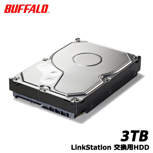バッファロー OP-HD3.0BN [LinkStation 交換用HDD 3TB]