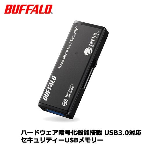 バッファロー RUF3-HSL4GTV5 [ハードウェア暗号化機能 USB3.0 セキュリティーUSBメモリー ウイルススキャン5年 4GB]