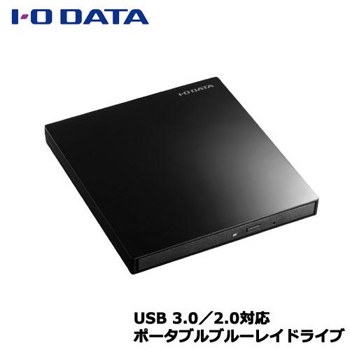 送料無料 新品未使用 在庫あり アイオーデータ EX-BD03K 9.5mmスリムドライブ採用ポータブルブルーレイドライブ ◆セール特価品◆ ピアノブラック 3.0バスパワー対応 USB