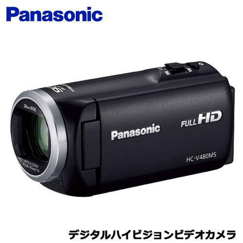 パナソニック HC-V480MS-K [デジタルハイビジョンビデオカメラ (ブラック)]