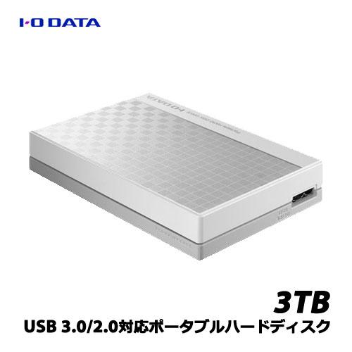 アイオーデータ EC-PHU3W3D [USB 3.0/2.0対応ポータブルハードディスク3TB]