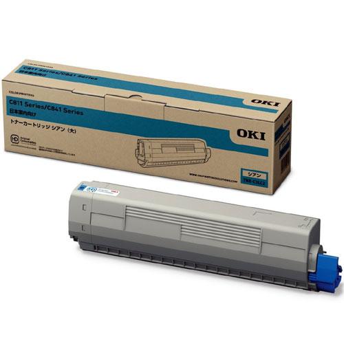 沖データ/TNR-C3LC2 [トナーカートリッジ(大容量) シアン (C841dn/C811dn) ]純正品