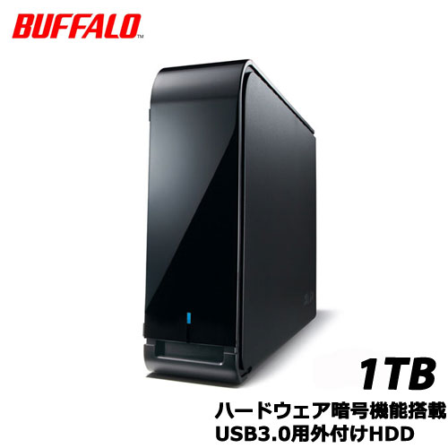 BUFFALO DriveStation HD-LX1.0U3D [HW暗号機能 USB3.0用外付HDD 1TB]