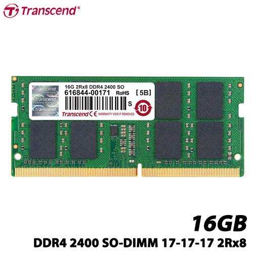 トランセンド TS2GSH64V4B [16GB DDR4 2400 SO-DIMM 17-17-17 2Rx8]