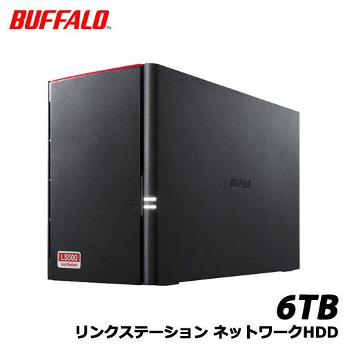 BUFFALO LinkStation LS520D0602 [NAS 2ドライブ デュアルコアCPU 6TB]