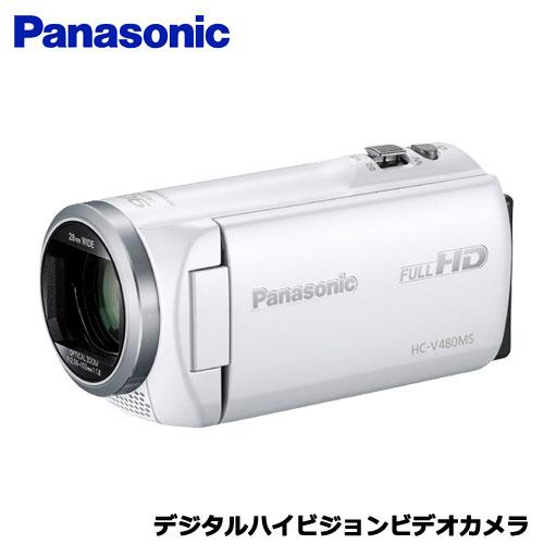パナソニック HC-V480MS-W [デジタルハイビジョンビデオカメラ (ホワイト)]