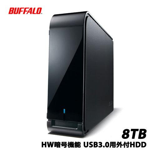 BUFFALO DriveStation HD-LX8.0U3D [HW暗号機能 USB3.0用外付HDD 8TB]