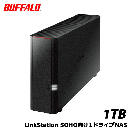 BUFFALO LS210DN0101B [LinkStation SOHO向け1ドライブNAS 1TB]