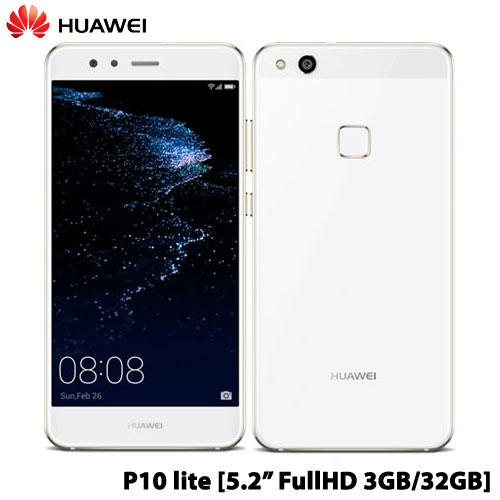 ファーウェイ(Huawei) P10 lite/WAS-L22J/Pearl White [P10/Pearl White]【Android SIMフリー】