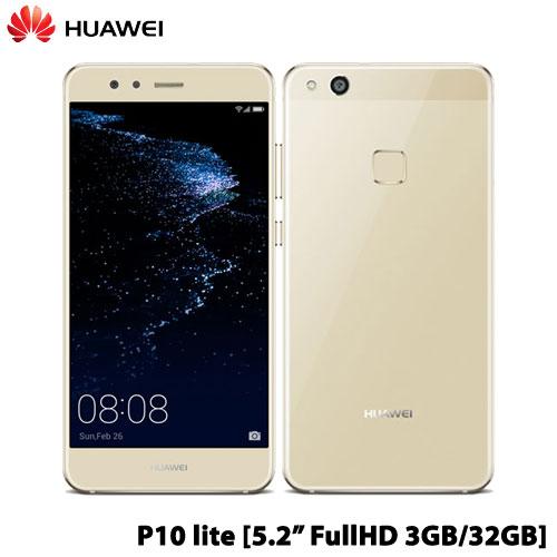 ファーウェイ(Huawei) P10 lite/WAS-L22J/Platinum Gold [P10/Platinum Gold]【Android SIMフリー】