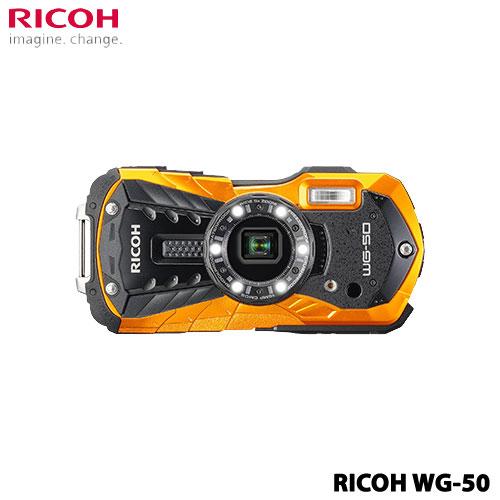 リコー WG-50OR [防水デジタルカメラ WG-50 (オレンジ)]