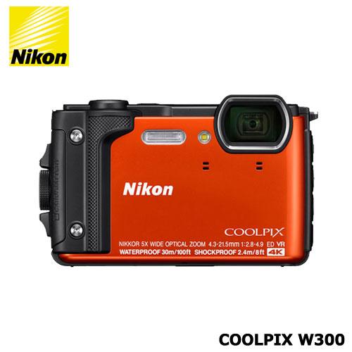 ニコン COOLPIX W300OR(オレンジ)
