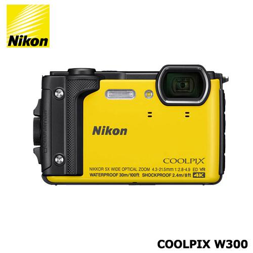 ニコン COOLPIX W300YW(イエロー)