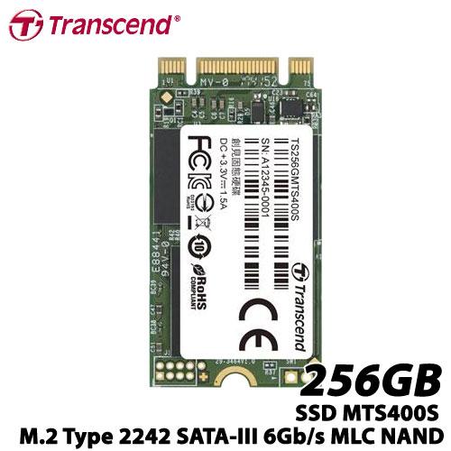 トランセンド TS256GMTS400S [256GB SSD MTS400S M.2 Type 2242 SATA-III 6Gb/s MLC NAND]