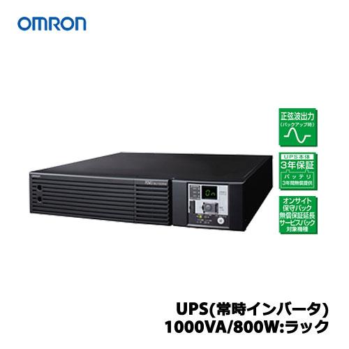 オムロン BU100RW [UPS(常時インバータ)1000VA/800W:ラック]