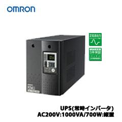 オムロン BU1002SW [UPS(常時インバータ) AC200V:1000VA/700W:縦置]