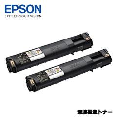 EPSON LPC3T21KPV [環境推進トナー/ブラック/Mサイズ2個パック(6200ページ×2)]