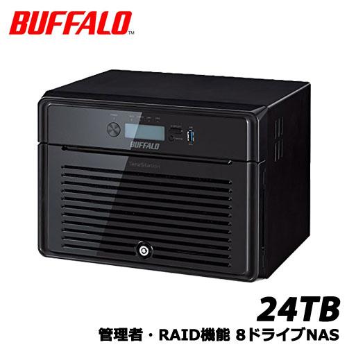 TeraStation 5800DN TS5800DN2408 [管理者・RAID機能 8ドライブNAS 24TB]