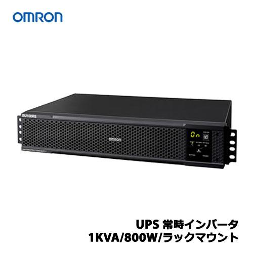 オムロン POWLI BU100RS [UPS 常時インバータ/1KVA/800W/ラックマウント]