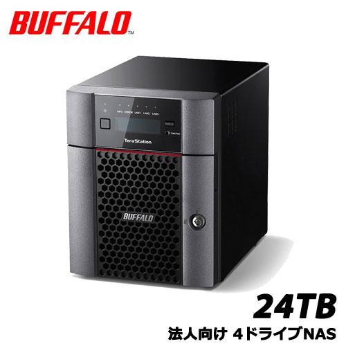 TeraStation TS5410DN2404 [10GbE 法人向け 4ドライブNAS 24TB]