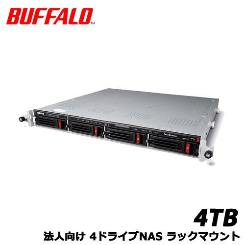 TeraStation TS5410RN0404 [10GbE 法人向け 4ドライブNAS ラックマウント 4TB]