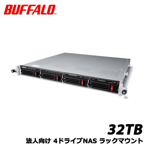 TeraStation TS5410RN3204 [10GbE 法人向け 4ドライブNAS ラックマウント 32TB]