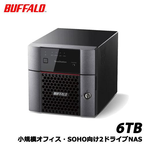 BUFFALO TeraStation TS3210DN TS3210DN0602 [小規模オフィス・SOHO向2ドライブNAS 6TB]
