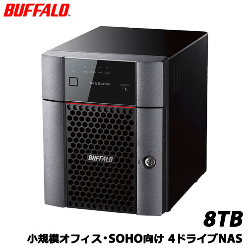 BUFFALO TeraStation TS3410DN TS3410DN0804 [小規模オフィス・SOHO向4ドライブNAS 8TB]