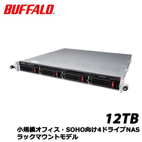 TeraStation TS3410RN TS3410RN1204 [小規模オフィス・SOHO向4ドライブNAS ラック 12TB]