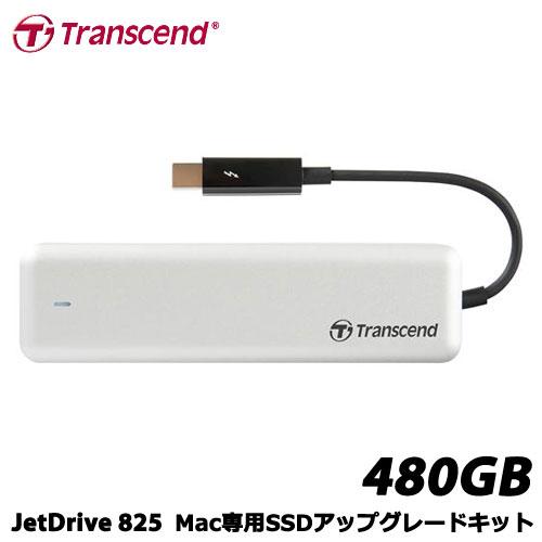 トランセンド TS480GJDM825 [480GB JetDrive 825 Thunderbolt PCIeポータブルSSD]