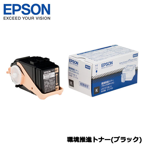 EPSON LPC3T18KV [LP-S7100用 環境推進トナー/ブラック/Mサイズ(5500ページ)]