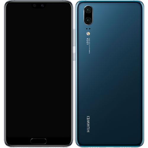 ファーウェイ(Huawei) P20/MidnightBlue [HUAWEI P20/Midnight Blue/51092NAU]
