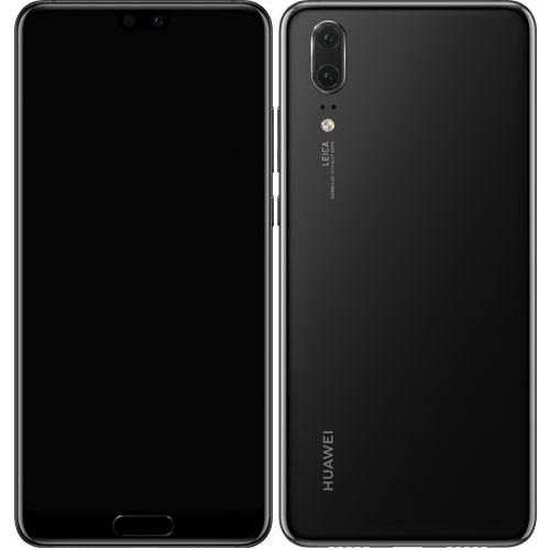 ファーウェイ(Huawei) P20/Black[HUAWEI P20/Black/51092NAT]