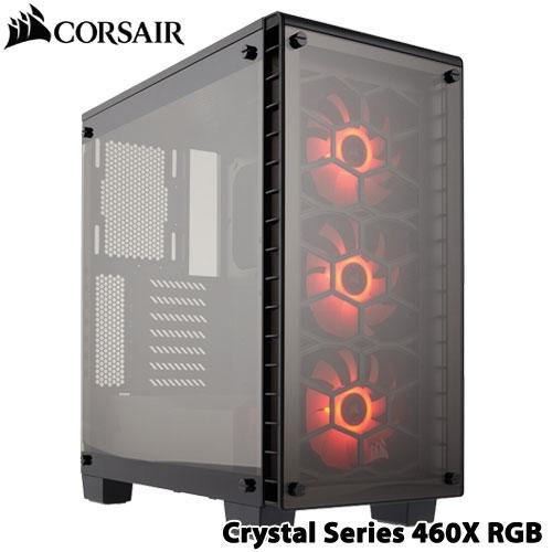 コルセア CC-9011101-WW [ATXミドルタワーケース Crystal Series 460X RGB]