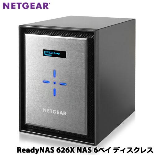 NETGEAR RN626X00-100AJS [ReadyNAS 626X 6ベイ デスクトップ型(ディスクレス)]