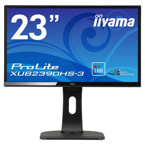 イーヤマ ProLite XUB2390HS-B3 [23型ワイド液晶ディスプレイ XUB2390HS-3 ブラック]