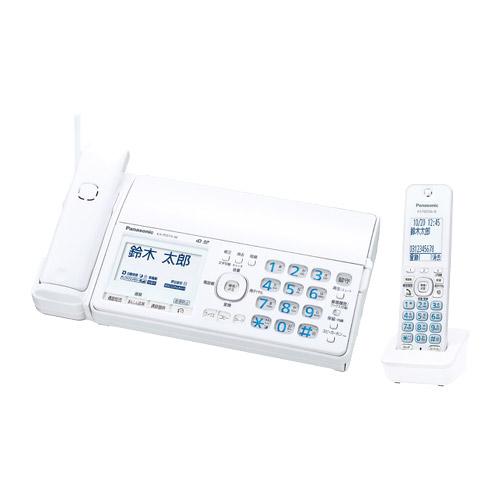 おたっくす KX-PD515DL-W [デジタルコードレス普通紙FAX(子機1)(ホワイト)]