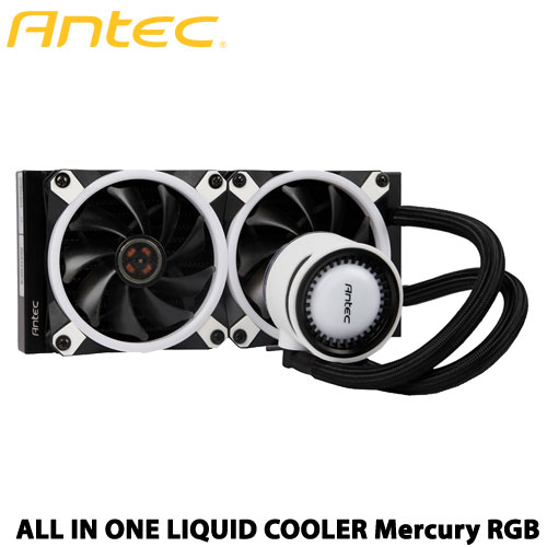 ANTEC Mercury240 RGB [240mmラジエータ採用オールインワン水冷CPUクーラー RGB SYNC対応]