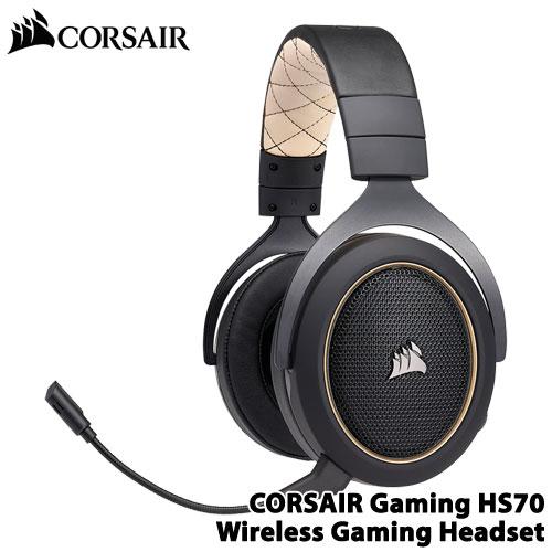 コルセア CA-9011178-AP [HS70 SE ワイヤレスゲーミングヘッドセット 7.1chバーチャルサラウンド対応]