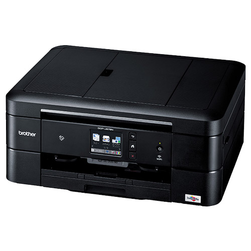 PRIVIO DCP-J978N-B [A4インク複合機/黒/ADF/LAN/手差し/両面/レーベル]