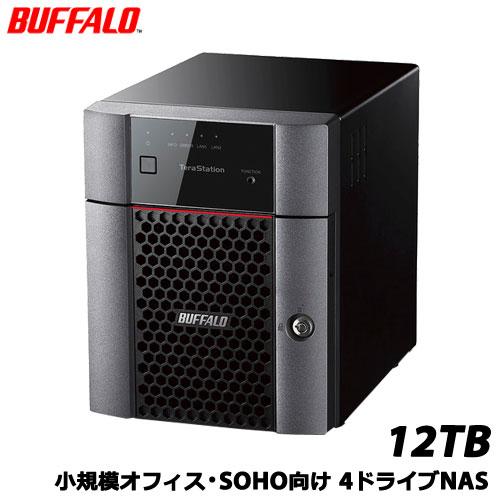 バッファロー TeraStation TS3410DN TS3410DN1204 [小規模オフィス・SOHO向4ドライブNAS 12TB]