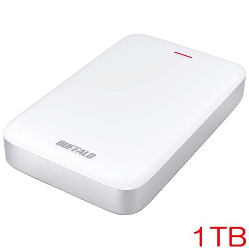 バッファロー MiniStation HD-PA1.0TU3-C [Thunderbolt&USB3.1/USB3.0 ポータブルHDD 1TB]