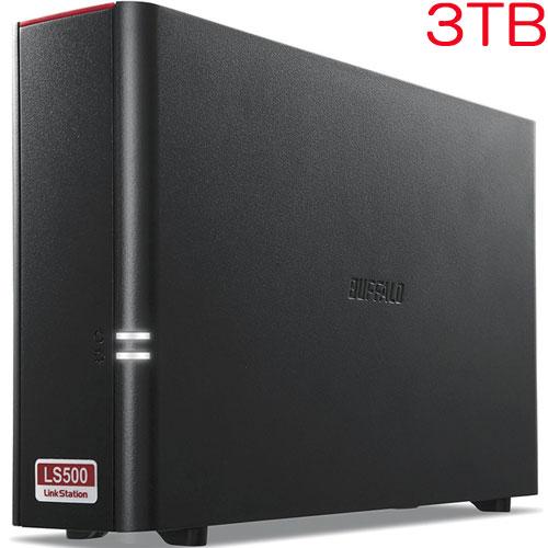 バッファロー LinkStation LS510DN0301B [SOHO NAS用HDD搭載 1ドライブNAS 3年保証 3TB]