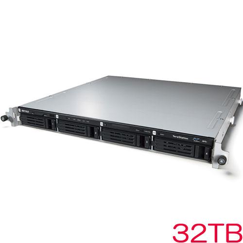 バッファロー TeraStation WSS WS5400RN32S6 [WSS2016 SE搭載 4ベイNAS ラックマウント 32TB]
